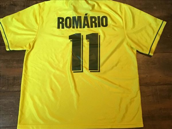 1994 Brazil Romario Football Shirt Adults XXL 2XL